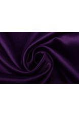 Crêpe Satijn Diep donker paars