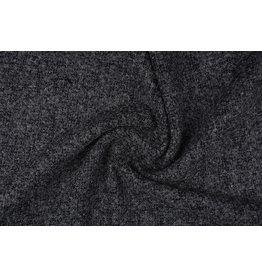 Grof geweven mantelpak stof Bouclé Grijs