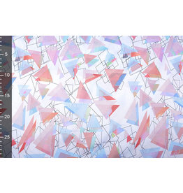 Poly Satin Triangles Multi
