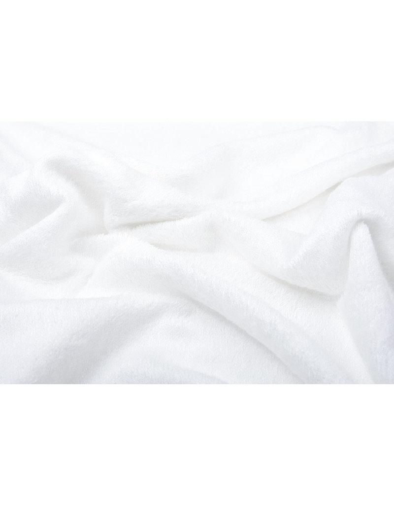 Oeko-Tex®  Bamboo Frottee Silk White