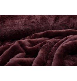 Imitation Fur Bordeaux