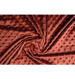 Minky Fleece Rust Brique