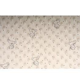 Koala Minky Fleece Beige