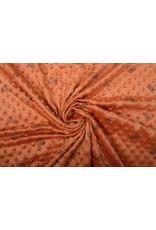 Igel Minky Fleece Orange Brique