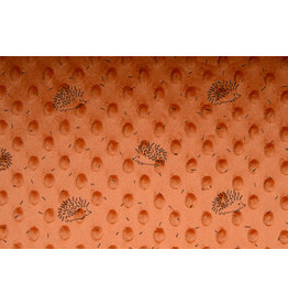 Egel Minky Fleece Oranje Brique
