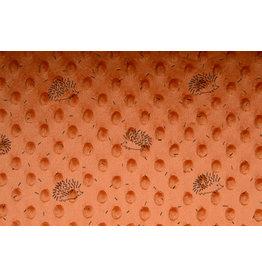 Igel Minky-Fleece Orange Brique