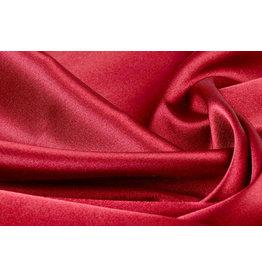 Stretch Satijn Rood