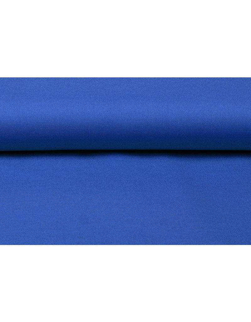 100% Baumwolle Königsblau