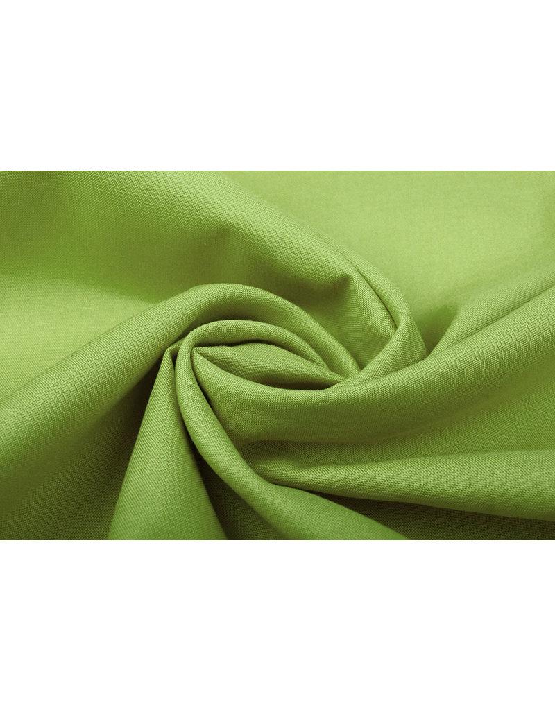 100% Baumwolle Limettengrün