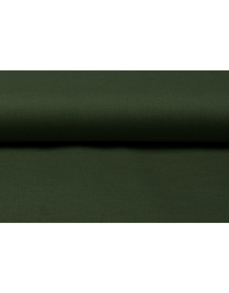 100% Baumwolle Armeegrün
