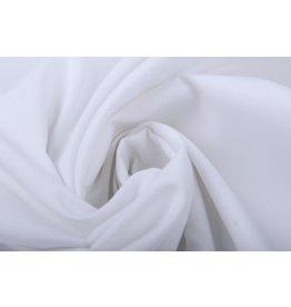 100% Popeline Weiß