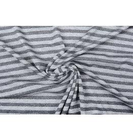 Viscose Jersey Stripes Light Grey Dark Grey Glitter