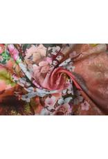 Stenzo Digitaal Paneel Dames Kimono Bloemen