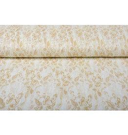Lace Putiputi Ivory Gold