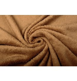 Cotton Curly Teddy Creme Light Mocha Brown
