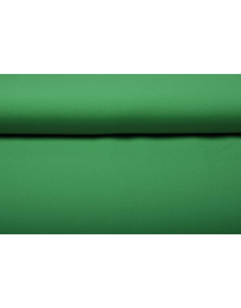 Crepe Stretch Gras-Grün