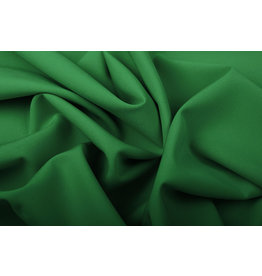 Crepe Stretch Grass Green