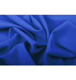 Crepe Stretch Royal Blue