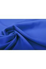 Crepe Stretch Koningsblauw