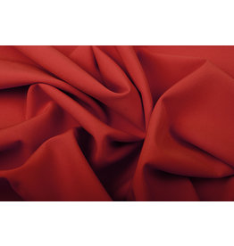 Crepe Stretch Red