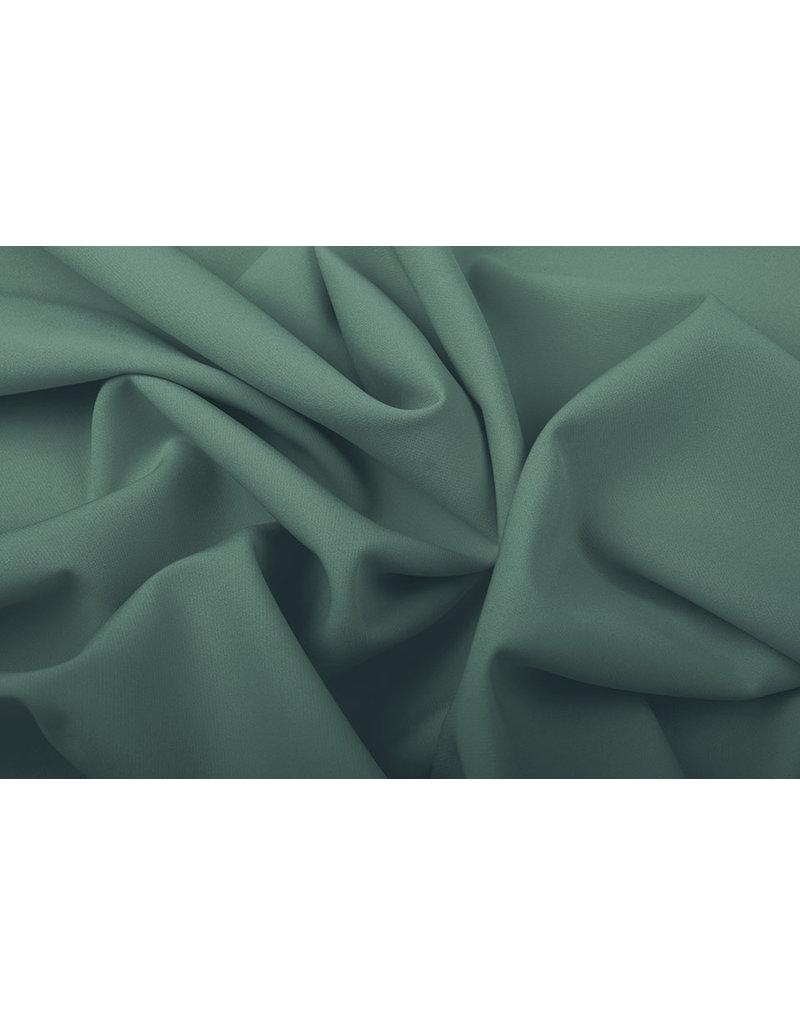 Crepe Stretch Dunkel Altgrün