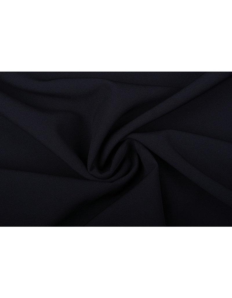 Crepe Stretch Zwart