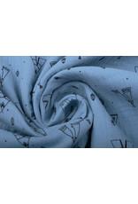 Oeko-Tex®  Baumwoll Musselin Tipi-Zelt Leichte Jeans