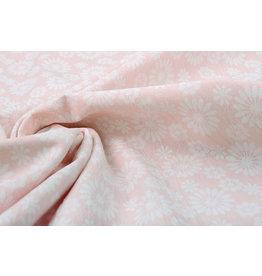 100% Washed Cotton Bulatan Mandala Light Pink