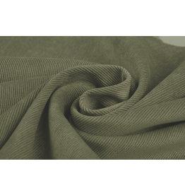 Rib Fabric 16 W Corduroy Light Army Green