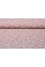 100% Washed Cotton Margarida Old Pink
