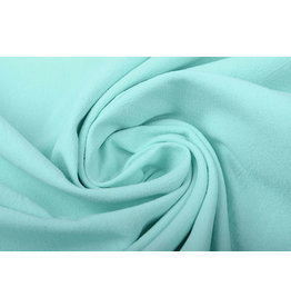 100% Washed Cotton Mint Green