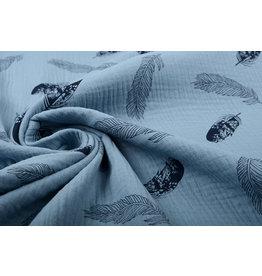 Oeko-Tex®  Double Gauze Fabric Dando Feather Light jeans