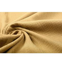 Oeko-Tex®  Double Gauze Fabric Mocha Brown