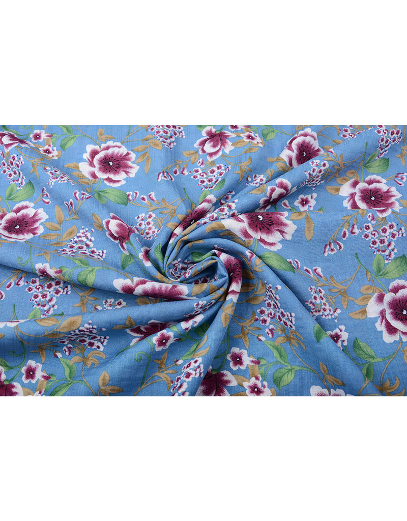 Baumwolle Viskose Amara Jeans Blau