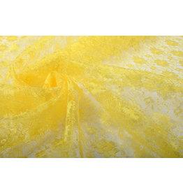 Lace Ziedi Lemon Yellow