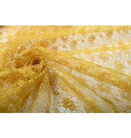Spitze Ziedi Ocker Gelb