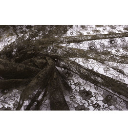Lace Ziedi Dark Brown