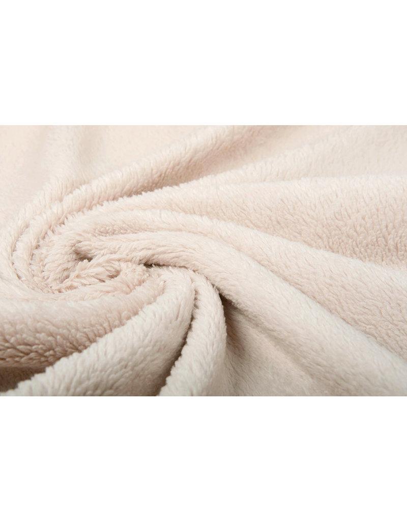 Cotton Curly Teddy Beige