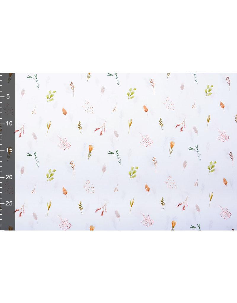 Stenzo 100% Digital Baumwolle Blätter und Zweige