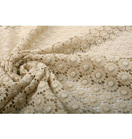 Crocheted Cotton Jaya Light Beige