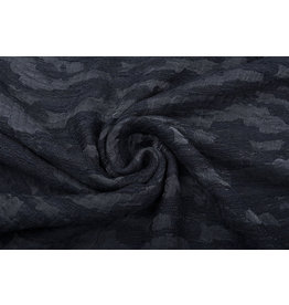 Bouclé - Jacquard Espacio Black