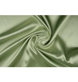 Polyester-Satin Altgrün