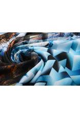 Digital Panel Scouba Crepe Berge Landschaft