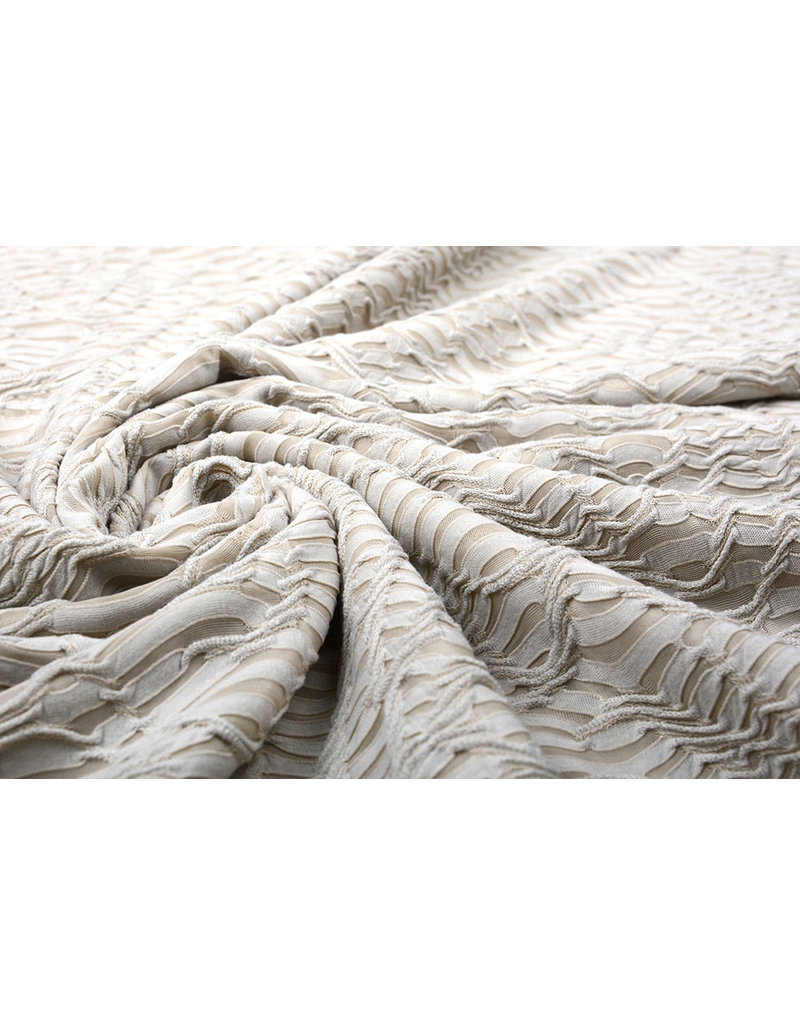 Jacquard Spitze Leichter Sand