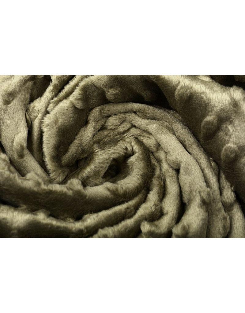 Minky Fleece Taupe