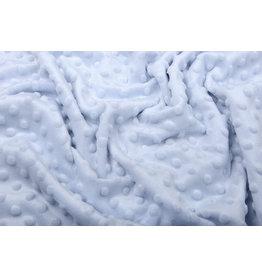 Minky Fleece Grey Baby Blue