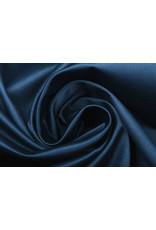 Baumwolle Stretch Satin Marine Blau