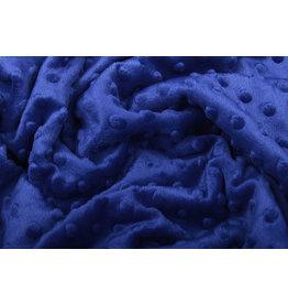 Minky Fleece Koningsblauw