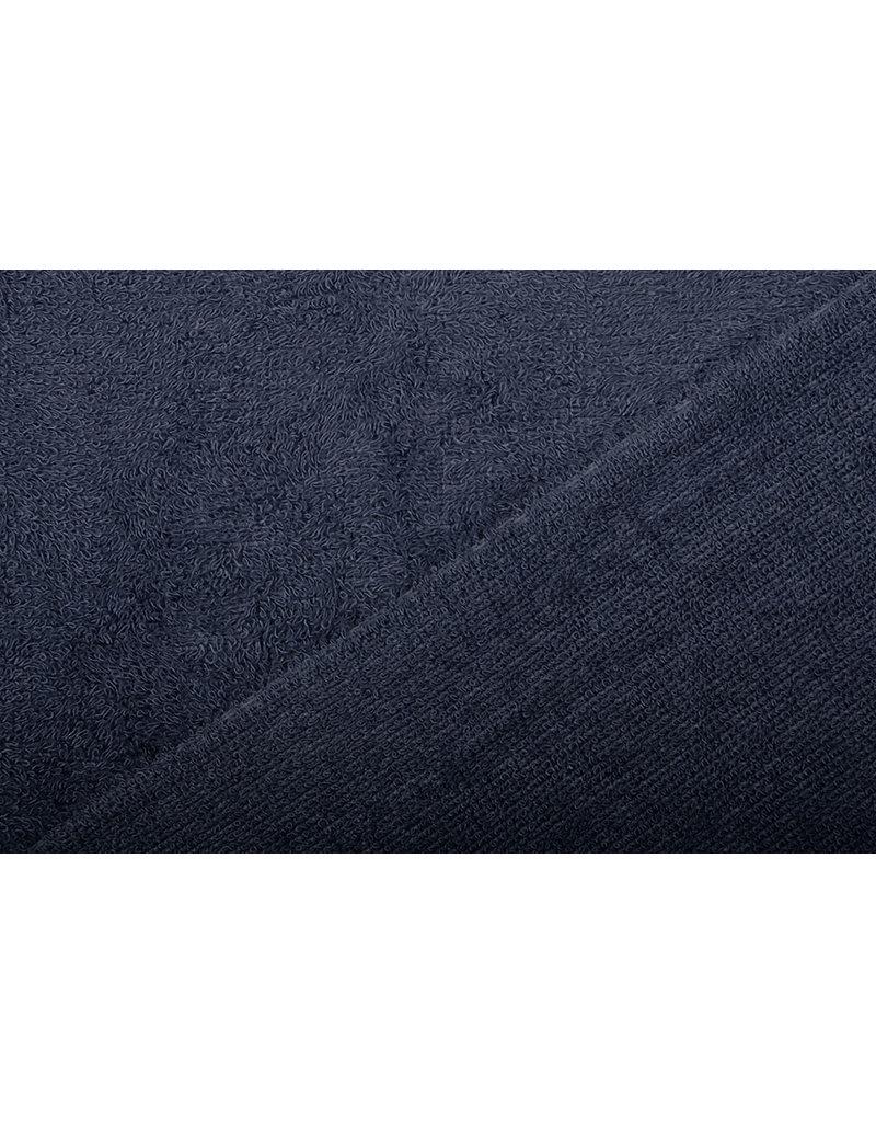 Oeko-Tex®  Bamboo Frottee Marine Blau