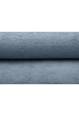 Bamboo Frottee Grau Blau
